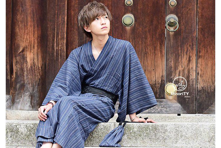 メンズのおしゃれ浴衣コーデ8選【2019年最旬】