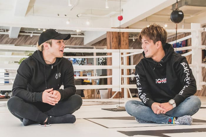 【K-1】皇治選手×小澤選手のインタビューをDIVINERが公開