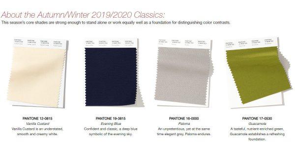 秋冬 トレンド カラー 2020